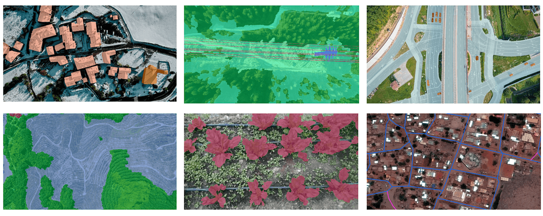 Annotations for Aerial Imagery 1