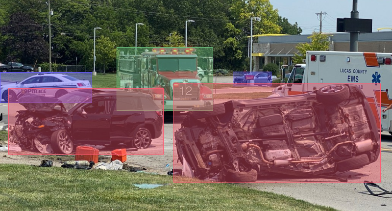 image annotation for vehicle damage detection